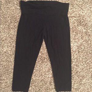 Victoria's Secret yoga Capri pants.